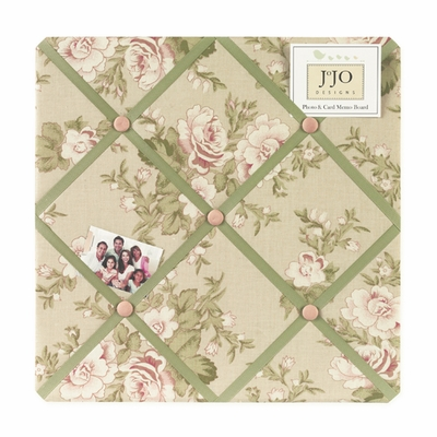 Annabel  Fabric Memo Board