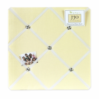 Bumble Bee  Fabric Memo Board