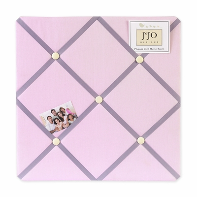 Butterfly Pink and Purple  Fabric Memo Board
