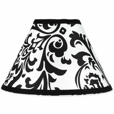 Isabella Hot Pink, Black and White Collection Lamp Shade