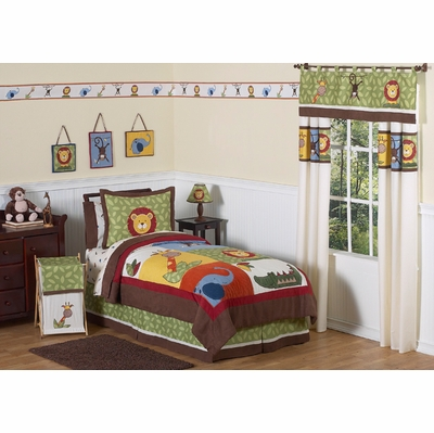 Jungle Time Twin Bedding Collection