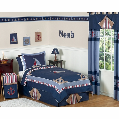 Nautical Nights Twin Bedding Collection