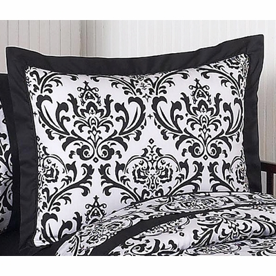Isabella Black and White Collection Pillow Sham