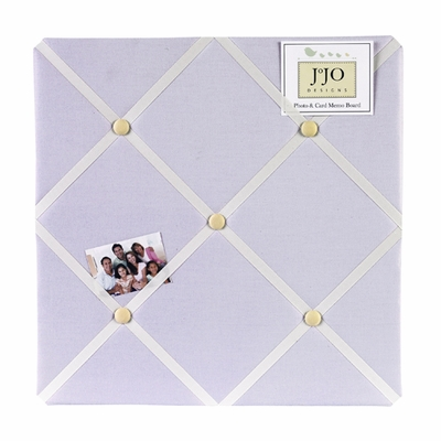 Purple Dragonfly Dreams  Fabric Memo Board