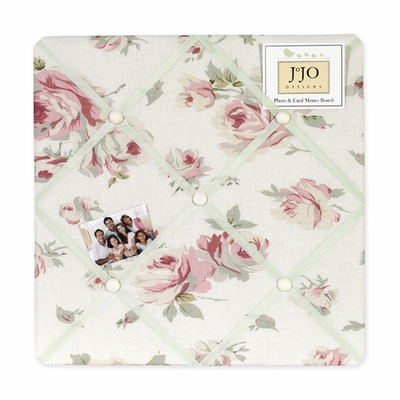 Riley's Roses  Fabric Memo Board