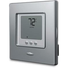 "Carrier EDGE ""Touch-N-Go"" non-programmable Thermostat: See EDGE accessories"