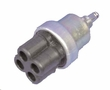 Ignition switch, 4 connector type, 24 volt
