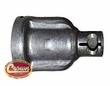 2) Coupling, Steering Shaft, Less power steering 1973-86