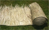 "Two - 30""x 60ft Commercial Grade Tiki Thatch Rolls"