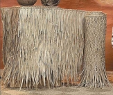 Two-4ft x 20ft Palm Grass Tiki Thatch Roll