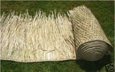 "<u>FIRE RETARDANT</u><p>30""x 20ft Commercial Grade Tiki Thatch Roll</p>"