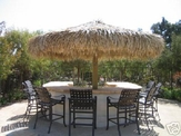 9ft Commercial Grade Palapa Thatch Umbrella Kit