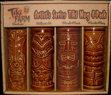 Artist Series 4 - Pack  TIKI MUGS BA060AS