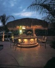 12ft Palapa Thatch Umbrella Top Cover