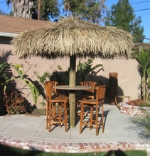 10ft Palapa Thatch Umbrella Top Cover