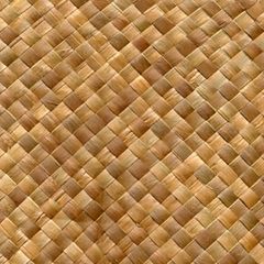 Wholesale 4ft X 8ft Lauhala Fine Weave Bamboo Wall Matting