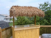 """30""""x 6ft Commercial Grade Tiki Thatch Roll"""