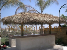 """30""""x 30ft Commercial Grade Tiki Thatch Roll"""