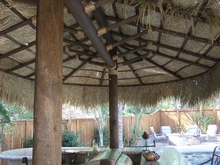 9' x 22' 2 Pole Oval Palapa Kit