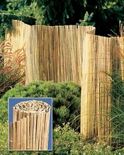 Split Bamboo Fence 6ft x15ft