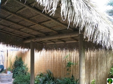 """30""""x 40ft Commercial Grade Tiki Thatch Roll"""