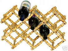 2-Tiki Bar Bamboo Wine Racks
