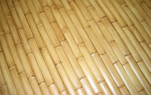"25 Natural Bamboo Flat Slats 1.75""x6ft"