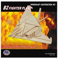 B-2 Spirit Stealth Bomber 3D Wooden Puzzle