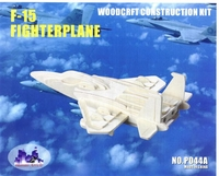 F-15 Eagle Fighter  3D Wooden Puzzle