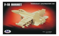 F-18 Hornet Fighter 3D Wooden Puzzle