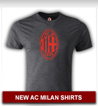 NEW AC Milan Shirts