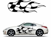 Racing Car Graphics pinstirpes Window Vinyl Car Wall Decal Sticker Stickers 03