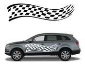 Racing Car Graphics pinstirpes Window Vinyl Car Wall Decal Sticker Stickers 11
