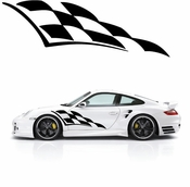 Racing Car Graphics pinstirpes Window Vinyl Car Wall Decal Sticker Stickers 19