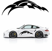 Racing Car Graphics pinstirpes Window Vinyl Car Wall Decal Sticker Stickers 29
