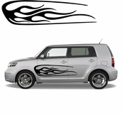 Racing Car Graphics pinstirpes Window Vinyl Car Wall Decal Sticker Stickers 33