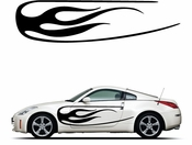 Racing Car Graphics pinstirpes Window Vinyl Car Wall Decal Sticker Stickers 37