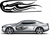 Racing Car Graphics pinstirpes Window Vinyl Car Wall Decal Sticker Stickers 39