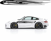 Racing Car Graphics pinstirpes Window Vinyl Car Wall Decal Sticker Stickers 40