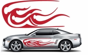 Racing Car Graphics pinstirpes Window Vinyl Car Wall Decal Sticker Stickers 41