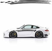 Racing Car Graphics pinstirpes Window Vinyl Car Wall Decal Sticker Stickers 44