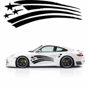 Racing Car Graphics pinstirpes Window Vinyl Car Wall Decal Sticker Stickers 45