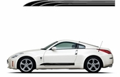 Racing Car Graphics pinstirpes Window Vinyl Car Wall Decal Sticker Stickers 103