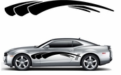 Racing Car Graphics pinstirpes Window Vinyl Car Wall Decal Sticker Stickers 110