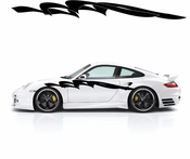 Racing Car Graphics pinstirpes Window Vinyl Car Wall Decal Sticker Stickers 122