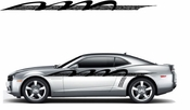 Racing Car Graphics pinstirpes Window Vinyl Car Wall Decal Sticker Stickers 125