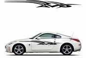 Racing Car Graphics pinstirpes Window Vinyl Car Wall Decal Sticker Stickers 131