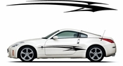 Racing Car Graphics pinstirpes Window Vinyl Car Wall Decal Sticker Stickers 138