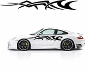 Racing Car Graphics pinstirpes Window Vinyl Car Wall Decal Sticker Stickers 145