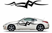 Racing Car Graphics pinstirpes Window Vinyl Car Wall Decal Sticker Stickers 147
